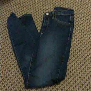 gap medium fade jean skinny